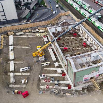 Tampereen vanhaa tavara-asemaa valmistellaan siirrettäväksi