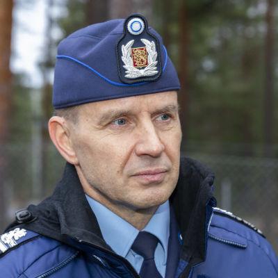 Oulun poliisipäällikkö Mika Heinilä