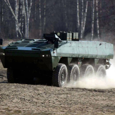Patrias AMV-fordon.