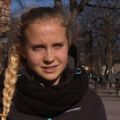 Ria Öling siktar på U20-VM 2014.