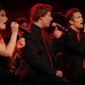 Eeppi Ursin, Jouni Kannisto, Juha Viitala ja Tuukka Haapananiemi Erilaisessa tangokonsertissa 2011