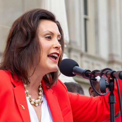 Michiganin kuvernööri Gretchen Whitmer