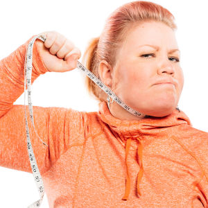 Jenny Lehtinen mittanauha kaulassa