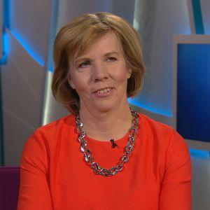Anna-Maja Henriksson i programmet Morgonettan i TV! lördagen den 23 februari 2019.