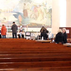 Kirkkoherranvaalit Rovaniemen kirkossa