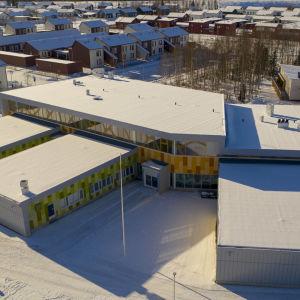 Pohjois-Ritaharjun koulu ilmakuva