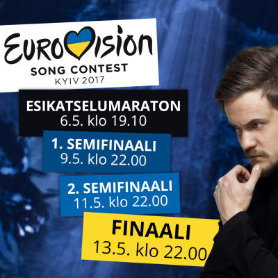 Euroviisut 2017 grafiikka