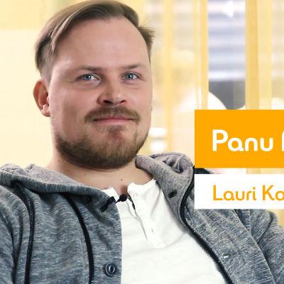 Kuvassa Panu Mikkola.