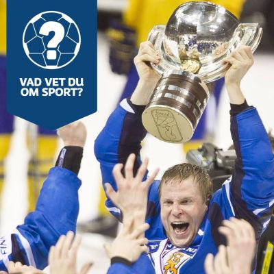 Mikko Koivu firar VM-guld.