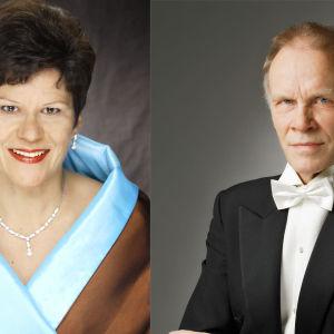 Soile Isokoski ja Jorma Hynninen