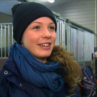 Fälttävlansryttaren Eirin Losvik i februari 2015