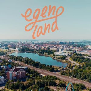 Bild på Helsingfors från luften