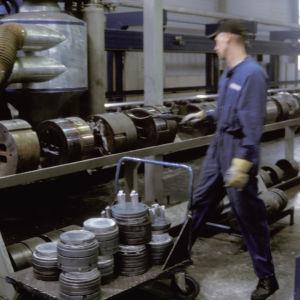 Metalliteollisuutta
