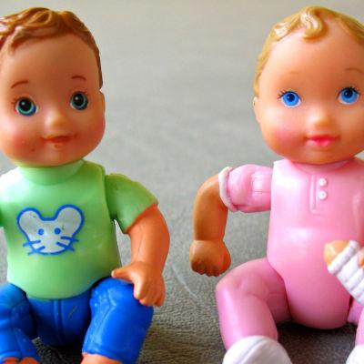 vauvanuket, tyttö ja poika