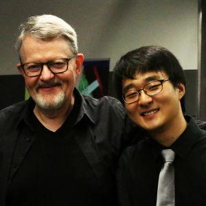 Matti Raekallio ja oppilaansa Hans H. Suh