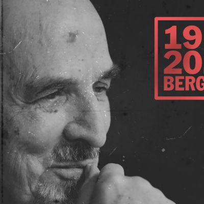 Närbild på Ingmar Bergman.