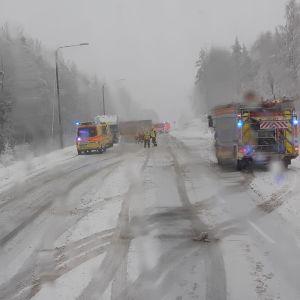 Bilolycka i Jyväskylä
