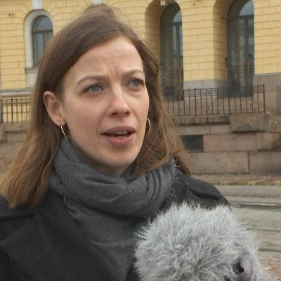 Li Andersson i Svenska Yles intervju.
