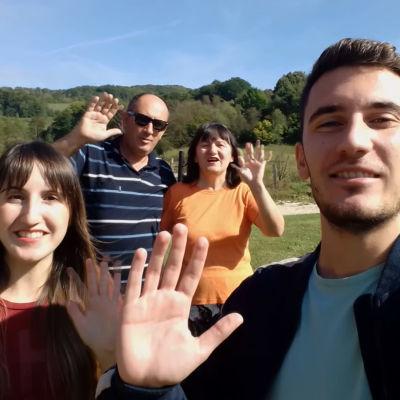 Bosnia-Herzegovinalainen Majstorovicin perhe rakastaa Euroviisuja.