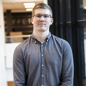 Tuotantotalouden opiskelija Sami Markkanen.