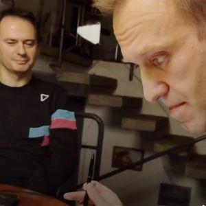 Christo Grozev ja Aleksei Navalnyi