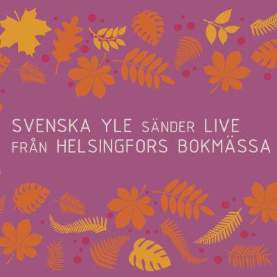 grafik: Svenska Yle sänder live från Helsingfors bokmässa