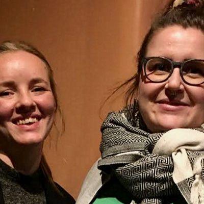 Julia Degerth och Ida Haapamäki