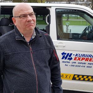 kuljettaja  Jukka Jyrkinen