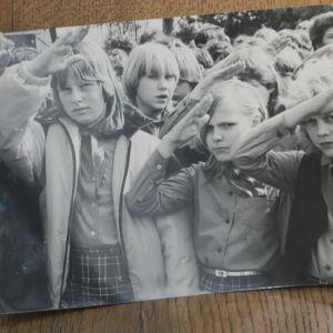 Kristi Ainjärv som pionjär när hon var barn