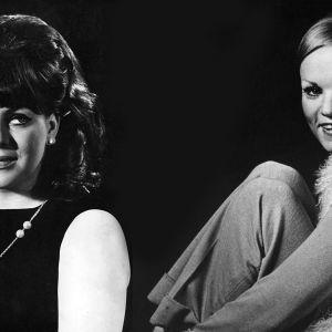 Paula Koivuniemi ja Katri Helena 1960-luvulla