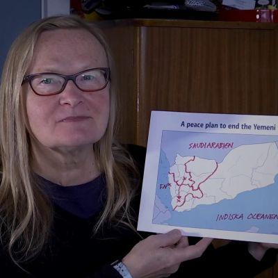 Susanne Dahlgren har gjort en fredsplan för Jemen