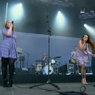 Scandinavian Music Group Ruisrockin rantalavalla 2014