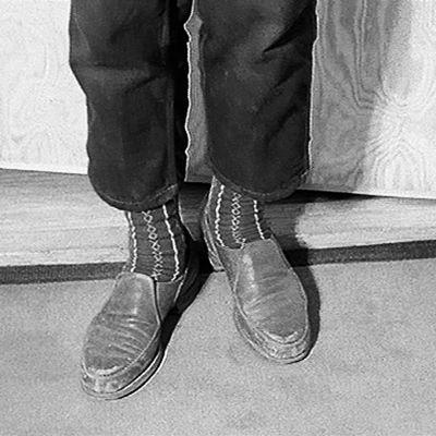 Kuvituksellinen otos kengistä.