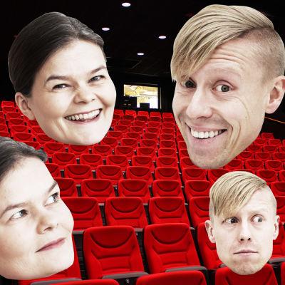 Silja Sahlgren-Fodstad och Nicke Aldén refererar Oscarsgalan 2016 på svenska