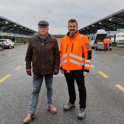 Henry Nygård ja Michael Östman