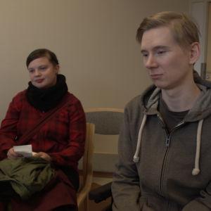 MS-tautia sairastava Erno on tullut Kittilästä Rovaniemelle lääketiputukseen.