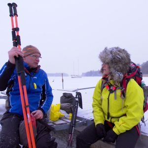 Ispiken är ögat på isen. Med den kan man kontrollera isens hållbarhet.