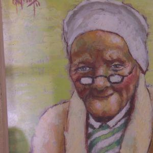 Hötorgskonst föreställer ofta gamla tanter.