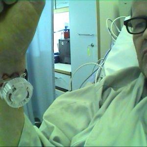 timo sairaalassa