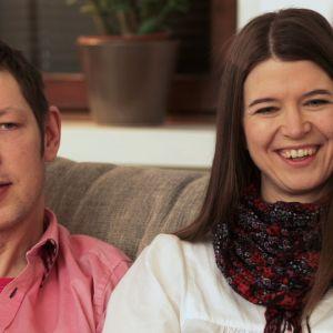 Peter Österman och Sandra Wikstrand.