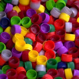Ett urval plastkorkar