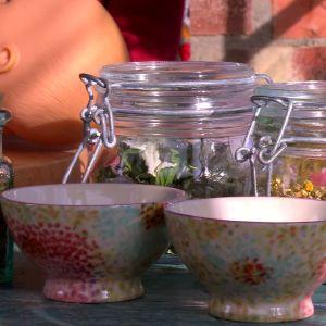 Ingredienser till teer för ammande mödrar och spädbarn