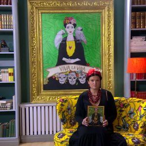 Camillas hommage till Frida Kahlo
