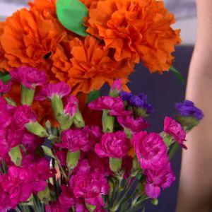 Allhelgona firas med starka färger.