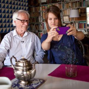 Erik Bruun ja Elina Heinänen
