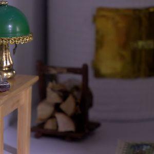Bordslampa i miniatyr