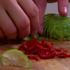 Lime och chili till marinad.