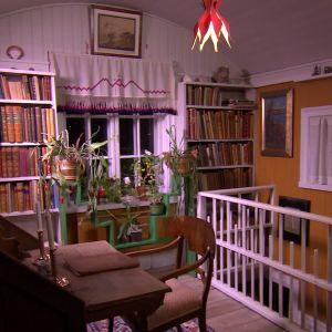 Arbetsrum i Larssons hem.