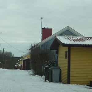 Stålbacka bostadsområde i Åminnefors