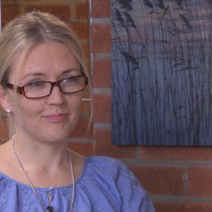 Marjaana Herlevi toukokuussa 2014